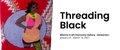 "Alberta Craft Gallery, ""Threading Black,"" 2021"