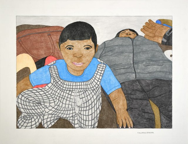 """Kudluajuk Ashoona, """"Untitled - (199-0237),"""" nd"""