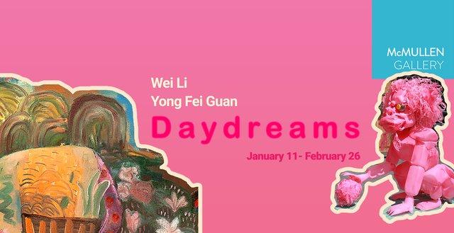 """Wei Li and Yong Fei Guan, """"Daydreams,"""" 2021"""