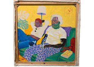 "Chukwudubem Ukaigwe, ""Once deep and twice shallow,"" 2020  (courtesy of the artist)"
