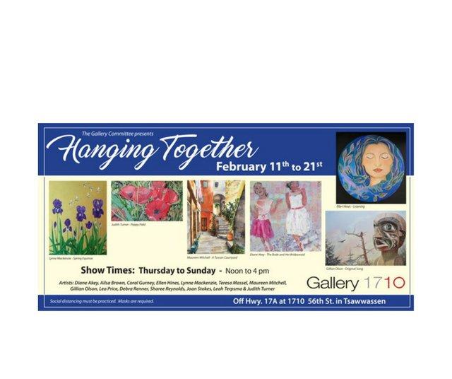 """South Delta Artists Guild, """"Hanging Together,"""" 2021"""