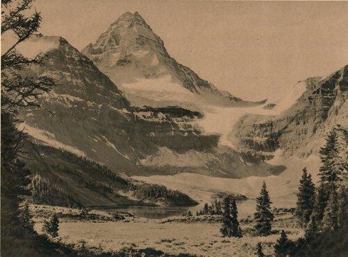 """unknown photographer, """"Mt. Assiniboine,"""" c.1920's"""
