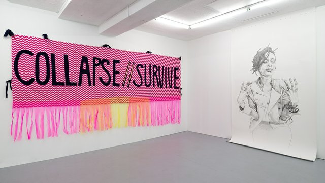 """Syrus Marcus Ware, """"collapse/survive,"""" 2020"""