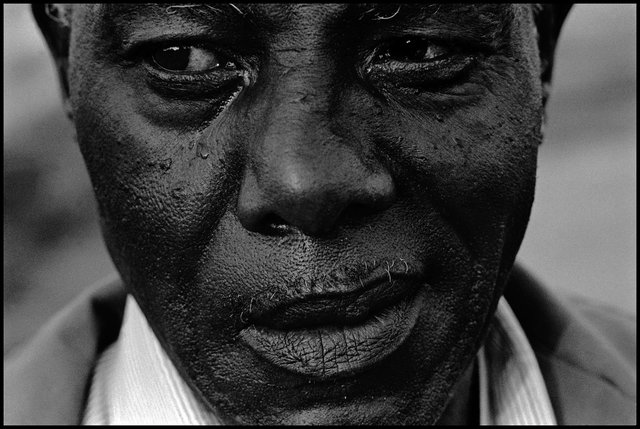 "Eli Reed, ""Portrait of a man in Mississippi. Tunica, USA,"" 1985"