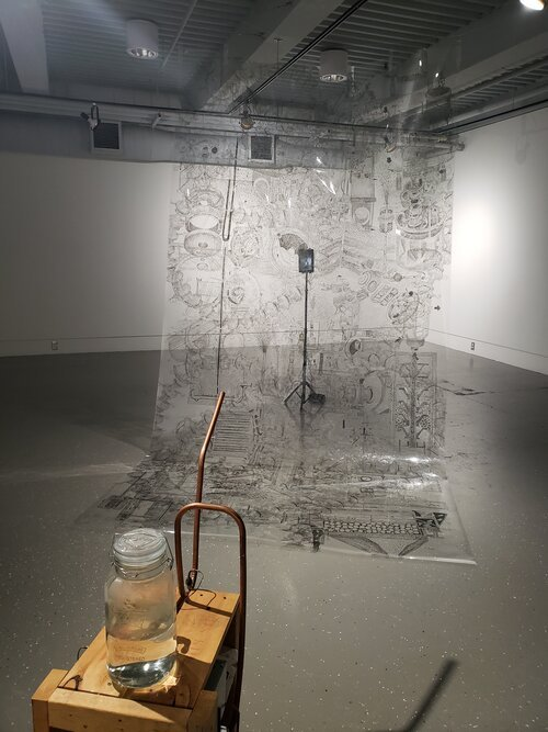 """Aileen Bahmanipour, """"Wasting Techniques,"""" 2021"""