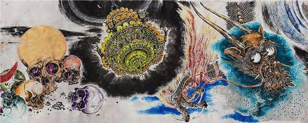 "Sun Xun, ""Mythology or Rebellious Bone,"" 2020"