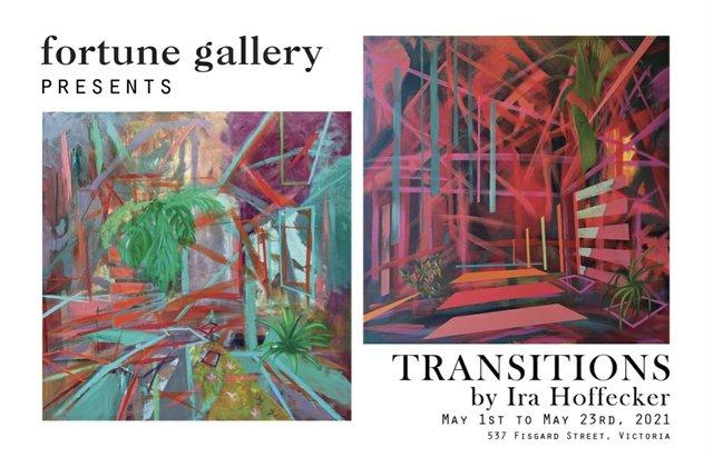 "Ira Hoffecker, ""Transit"" and ""Corridor,"" 2021"