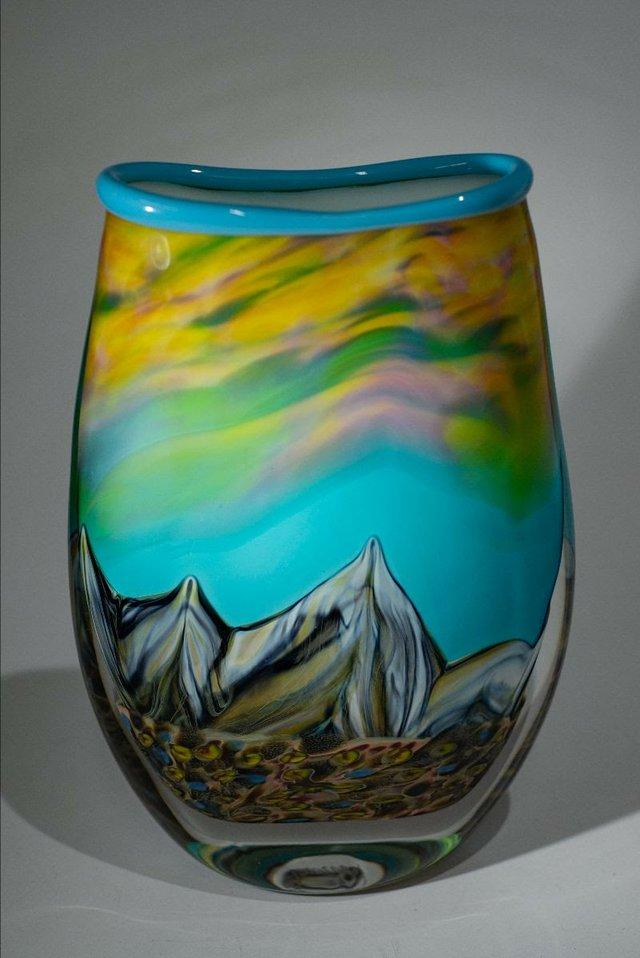 """Ryan Bavin, """" Summit Vase,"""" 2020"""