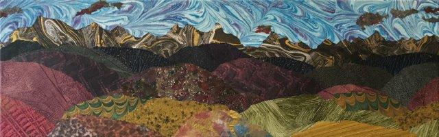 "Susan Kristoferson, ""Foothills Evening,"" 2020"
