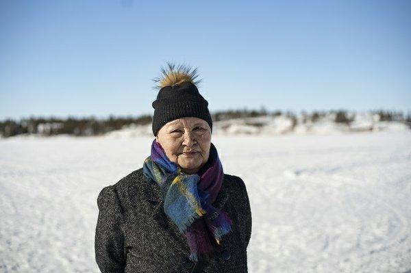 Germaine Arnaktauyok (photo by Sarah Pruys)