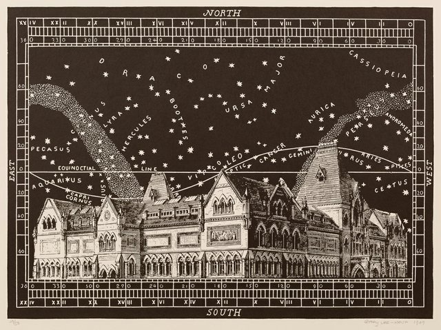 "Gary Lee-Nova, ""Celestial Mansion,"" 1969"
