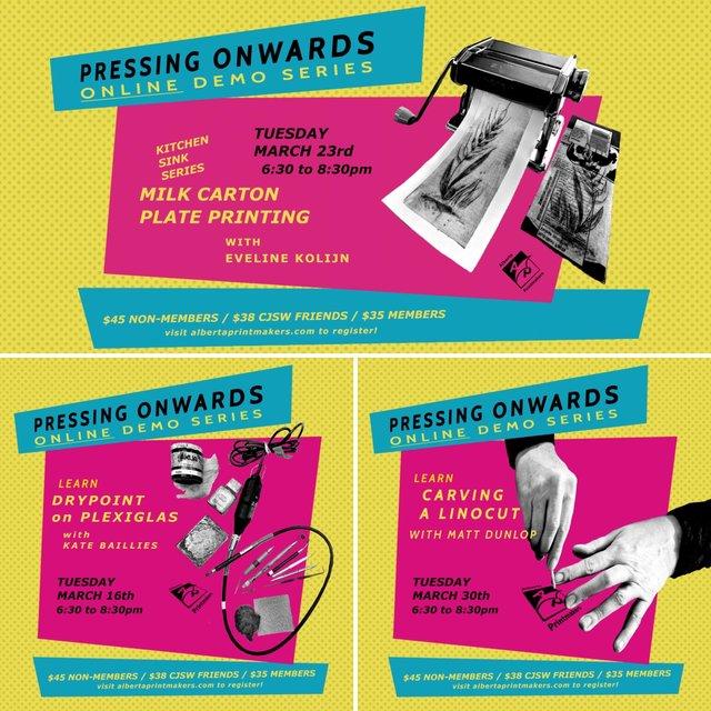 """Alberta Printmakers, """"Pressing Onward,"""" 2021"""