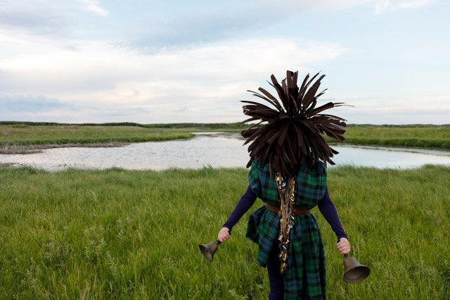 """Meryl McMaster, """"From A Still Unquiet Place,"""" 2020"""