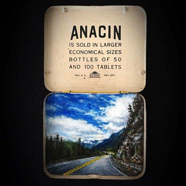 """Shelley Vanderbyl, """"Anacin,"""" n.d."""