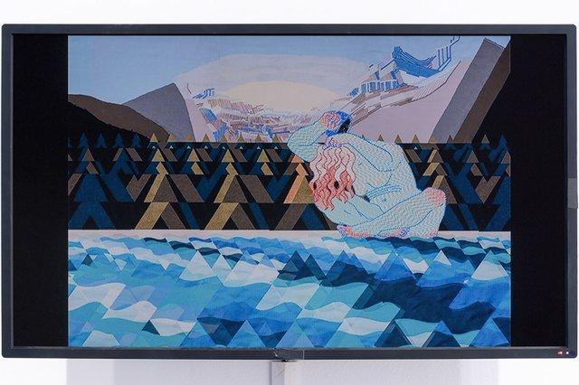 "Caitlin Thompson, ""Panoramada (Waterfall),"" 2019"