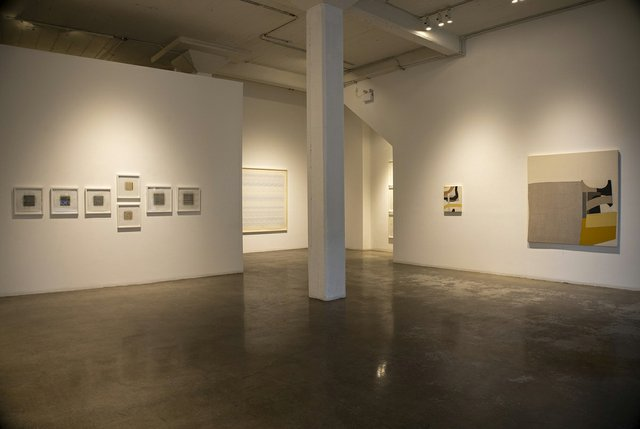 """""""Process,"""" 2021, installation view at the Paul Kuhn Gallery in Calgary (courtesy of Paul Kuhn Gallery)"""