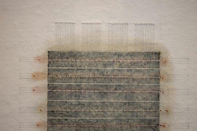 "Eleanor Wood, ""Accumulations #7"" (detail), 2019"