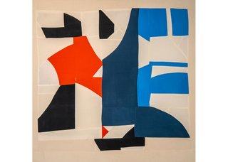 "Tanja Rector, ""Little Orange Triangle,"" 2020"