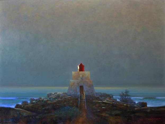 "Brent Lynch, ""Amphitrite Lighthouse,"" 2021"
