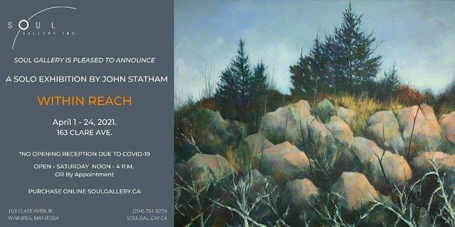 "John Statham, ""Within Reach,"" 2021"