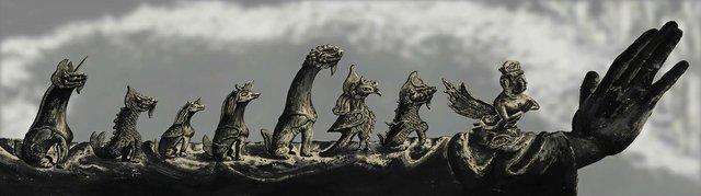 "Sun Xun, ""Mythological Time,"" 2016"