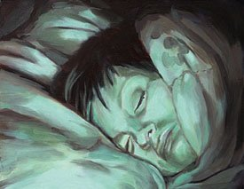 """Lisa Sleeping #3"""