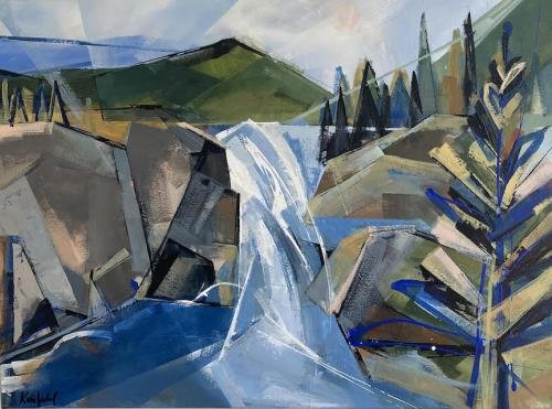 """Katie Leahul, """"First Dates - Elbow Falls,"""" 2021"""