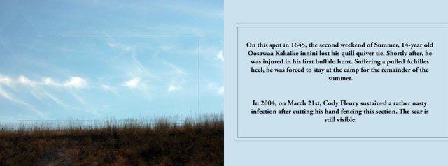 "Scott Benesiinaabandan and Kerri-Lynn Reeves, ""Historical Landscapes,"" 2011"
