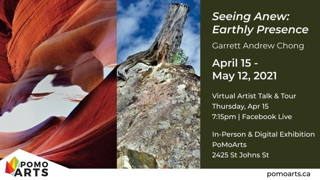 """Garrett Andrew Chong, """"Seeing Anew: Earthly Presence,"""" 2021"""
