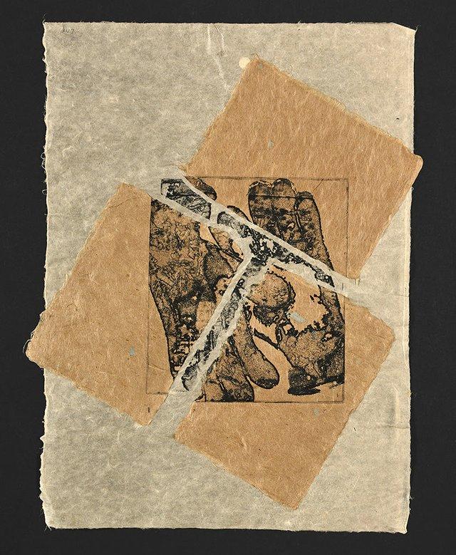 "Dorothy Field, ""Hands Triad,"" 2017"