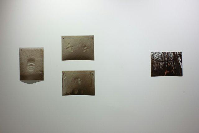"Jaime Black andBrandy Bjarnason Bloxom, ""small gatherings,"" 2021, installation view at Platform Centre for Digital and Photographic Arts in Winnipeg (image courtesy of Platform)"