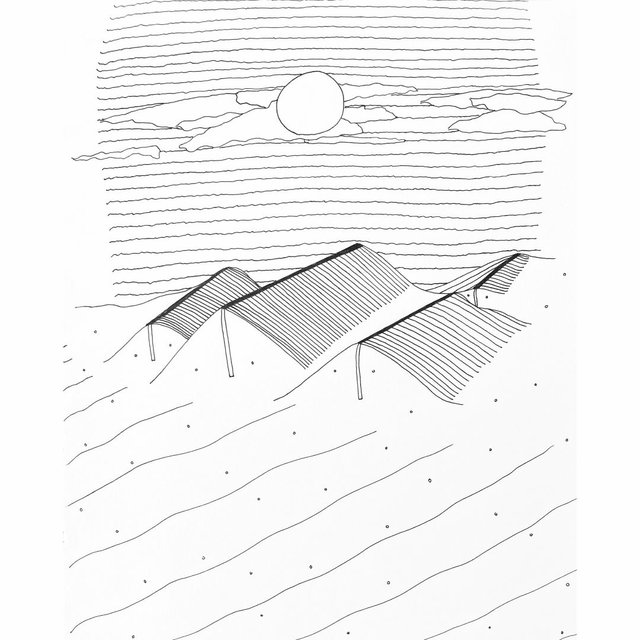 "Lisa Marie Bellano, ""The Dunes,"" 2020"