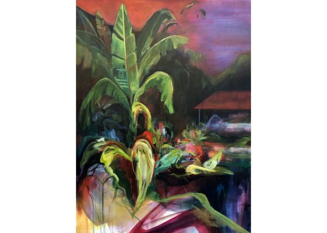 """Joanne Hewko, """"Jardin de los Suenos 1 (Garden of Dreams 1),"""" 2021"""