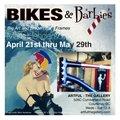 """Mark Henderson, """"Polar Bear,"""" and """"Easy Rider Bike Frame,"""" 2021"""