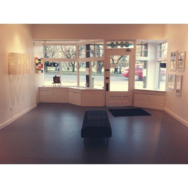 "Edith Krause, ""Fort Gallery Interior."" 2021"