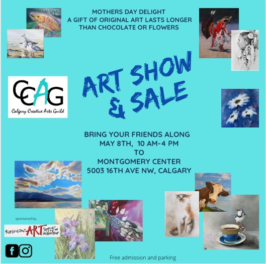 """CCAG Art Club Members """"Art Show and Sale,"""" 2021"""