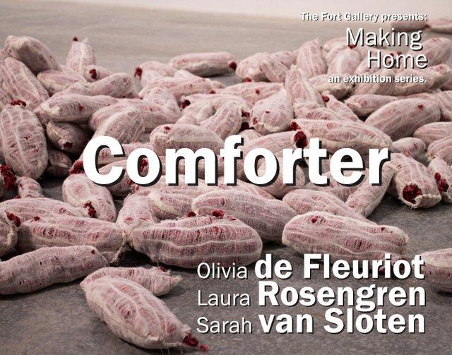 "Olivia de Fleuriot, ""Comforter,"" 2021"