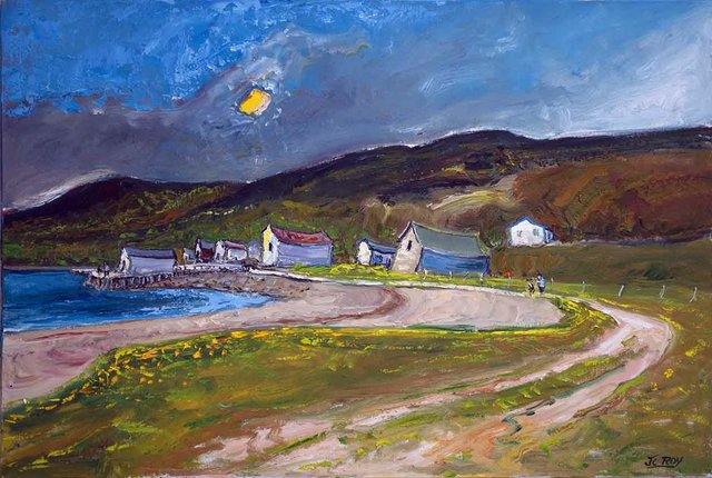 "Jean Claude Roy, ""Coachmans Cove,"" 2020"