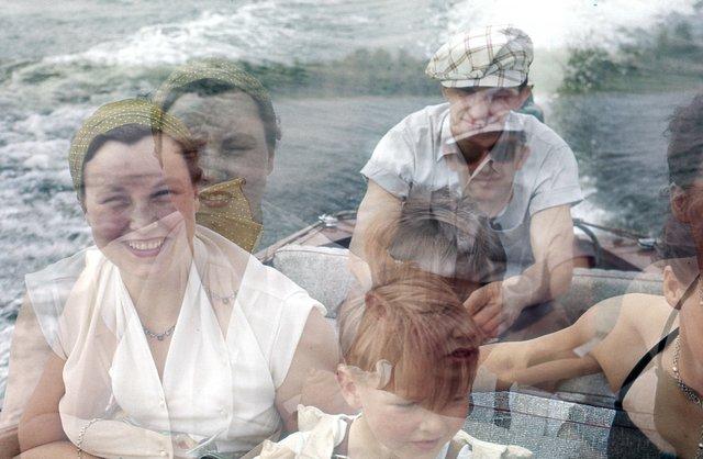 "Anna Kasko, ""Family on a boat trip,"" 2018"