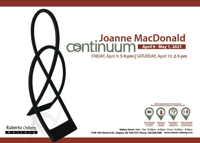 "Joanne MacDonald, ""Continuum,"" 2021"