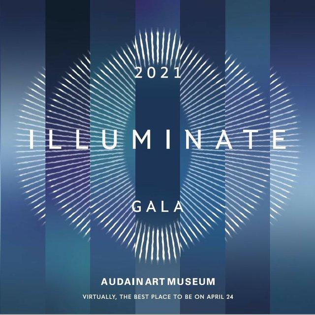 """Audain Art Museum, """"Illuminate Art Gala 2021"""" 2021"""