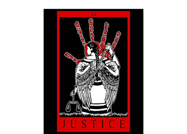 "Brooklyn Carriere, ""Justice"" (photo courtesy Prairie Harm Reduction)"