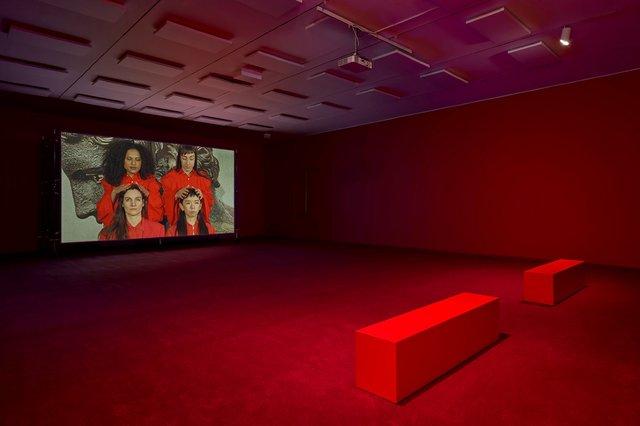 """Sara Cwynar, """"Red Film,"""" 2018"""