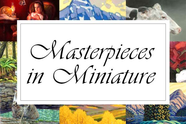 """Picture This Gallery, """"Masterpieces in Miniature,"""" 2021"""