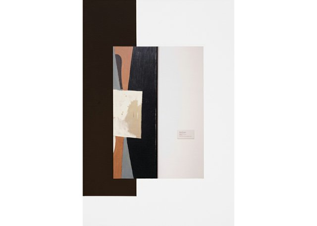 """Ian Wallace, """"Abstract Composition (with Picasso),"""" 2011"""