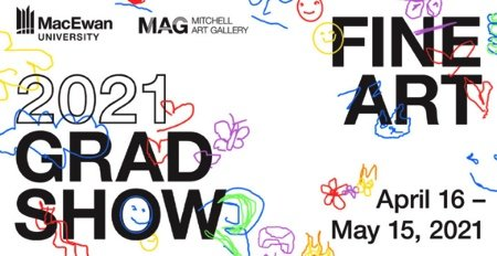 "Mitchell Art Gallery, ""Fine Art 2021 Grad Show,"" 2021"