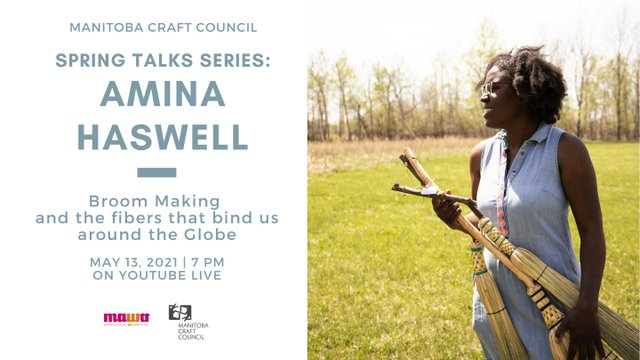 "Amina Haswell, ""Spring Talks Series,"" 2021"