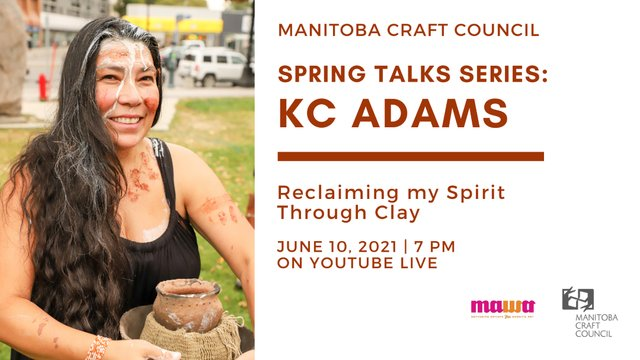 "Spring Talk Series, ""KC Adams,"" 2021"