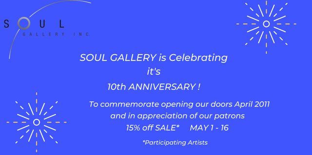 """Soul Gallery, """"10th Anniversary,"""" 2021"""