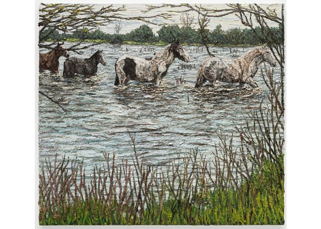 "Matt Bahen, ""The Four Horses,"" 2020"